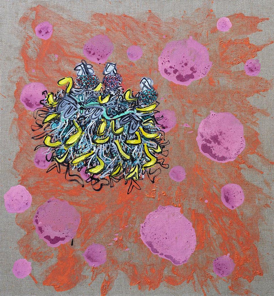 Microbe approaching Jupiter