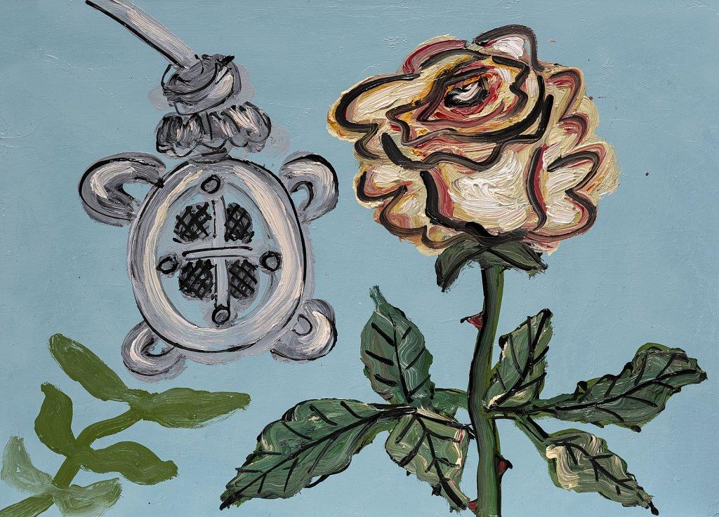 Recording a Rose